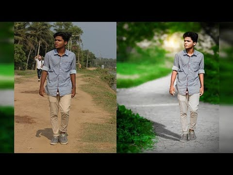 Adobe Photoshop 7.0 Tutorial | How To Change Background