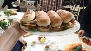 Готовим бутерброды на пикник. 50 рецептов первого
