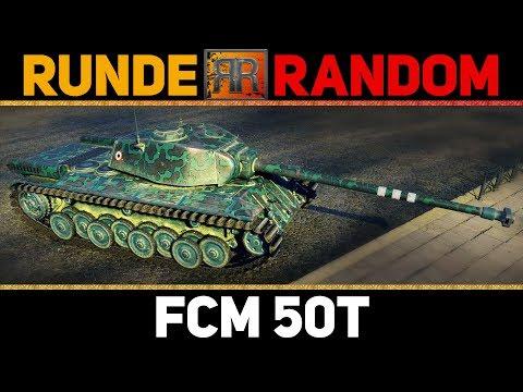World of Tanks | [GER] RR #54 - FCM 50t
