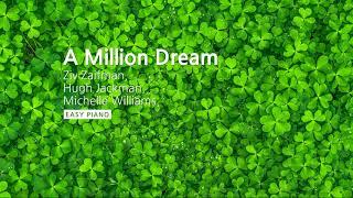 Download Lagu Ziv Zaifman, Hugh Jackman, Michelle Williams - A Million Dream (위대한 쇼맨 OST) Piano Cover Mp3