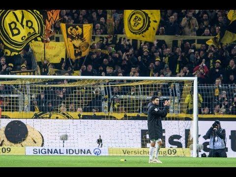 Amazing scenes as Dortmund say farewell to club legend Nuri Sahin