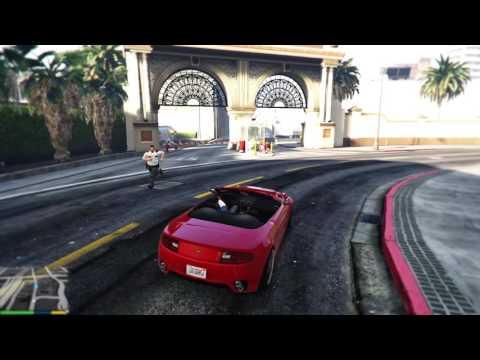 GTA V Gameplay test