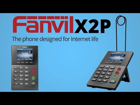 Fanvil X2P | Professional Call Center Phone with PoE and Color Display
