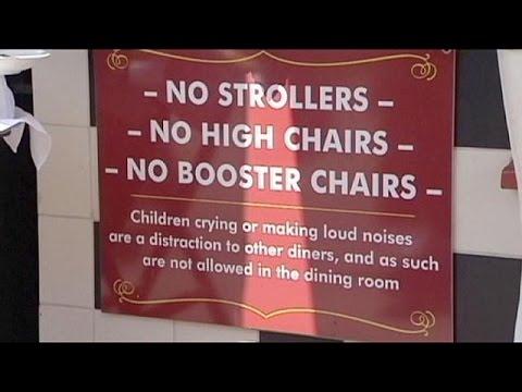 California restaurant says no to noisy kids