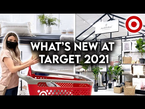TARGET HOME DECOR SHOP WITH ME 2021   NEW DECOR + ORGANIZATION