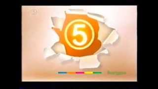 Channel 5 Continuity 15th January 2002