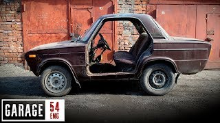 Making a TWO DOOR Lada shorty (episode one)