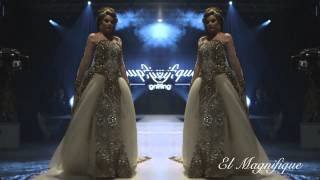 el magnifique choose your way collection 2014 fashion show at maroc expo 2013