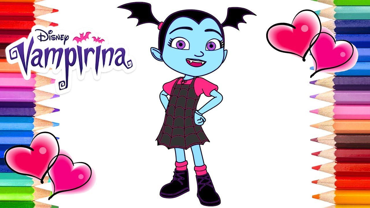 Disney Vampirina Coloring Page Vampirina Coloring Book