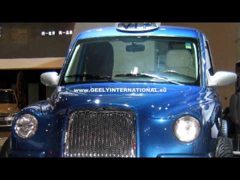 GEELY TX4 TAXI Shanghai 2009 Motor Show (HD)