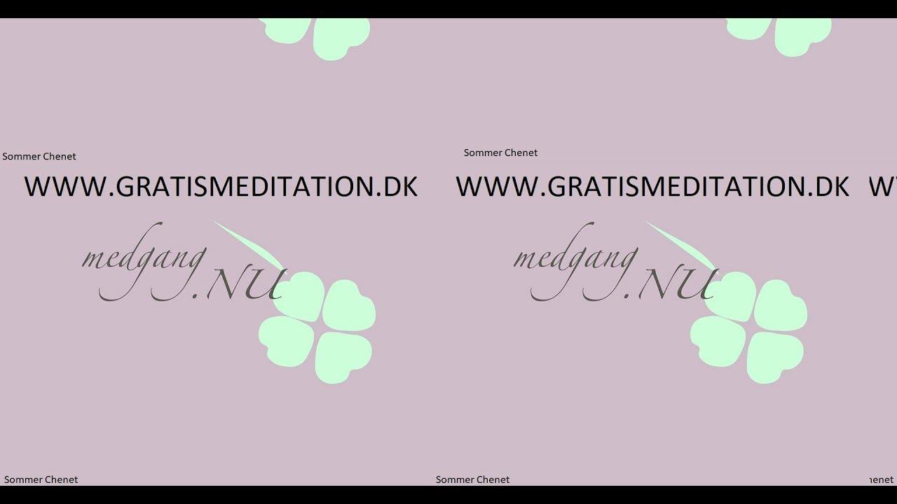Guidet Meditation Pa Dansk Pause Youtube