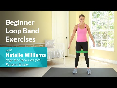 Loop (Resistance) Band Exercises For Beginners