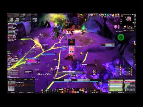 Mythic Archimonde - Destruction Warlock PoV