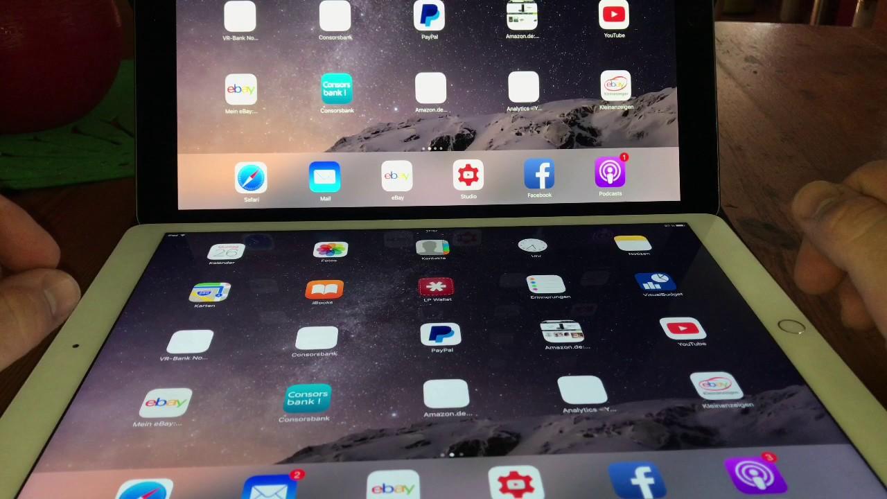 Apple iPad Pro 12.9-inch (2nd generation) VS Apple iPad ...