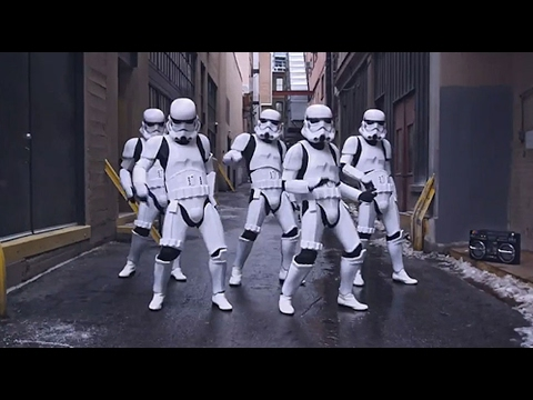 CANT STOP THE FEELING!  Justin Timberlake Stormtroopers Dance Moves & More PT 4