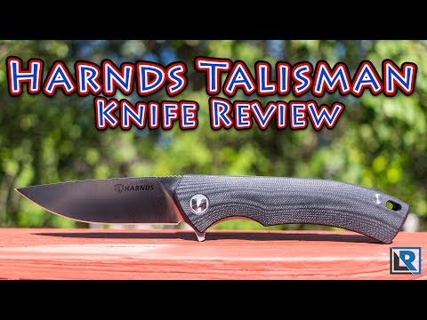 Harnds Talisman CK9168 Knife Review (Coupon in description)