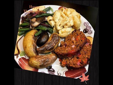 Vegan Thanksgiving meal Idea