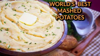 World's Best Creamy Mashed Potatoes Recipe: Mashed Potatoes With Parmesan & Cream Cheese
