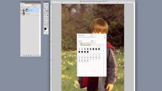 Photoshop Tutorial (CS4) - Rem๐ving Background with Layer Masking
