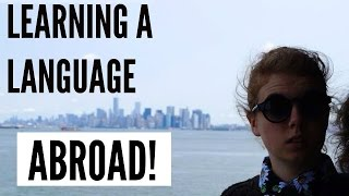 Learning a language abroad struggles | exchange student