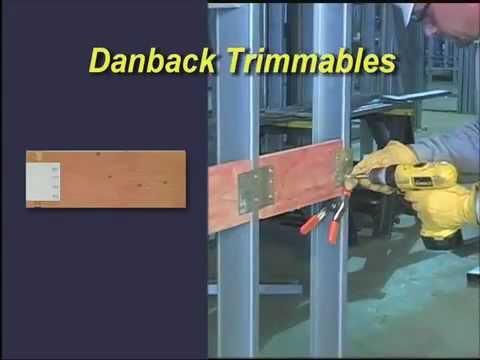 ClarkDietrich Danback Flexible Wood Backing