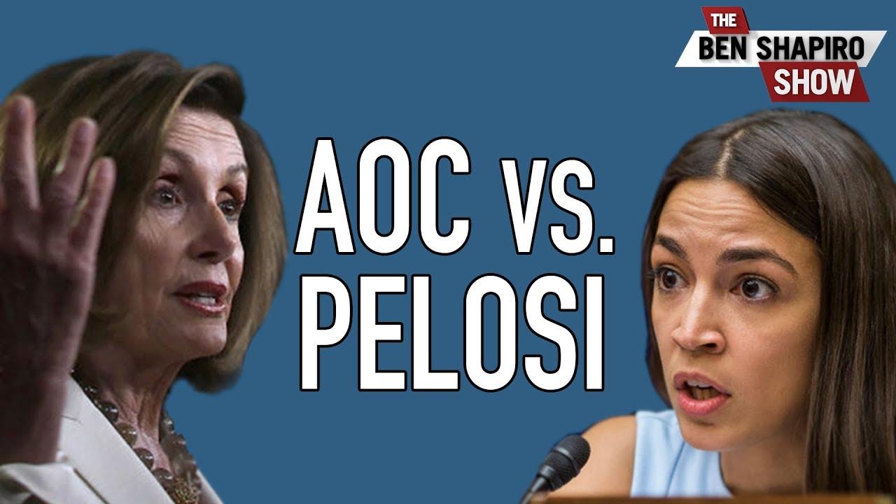 HILARIOUS: AOC Calls Pelosi A Racist