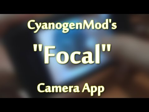 "Teaser - ""Focal"" camera app - Samsung Galaxy SL i9003"