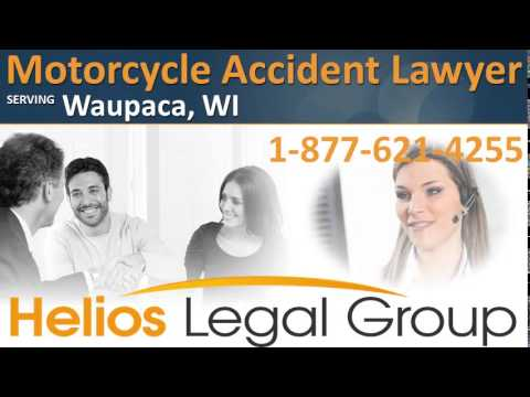 Waupaca Motorcycle Accident Lawyer & Attorney - Wisconsin