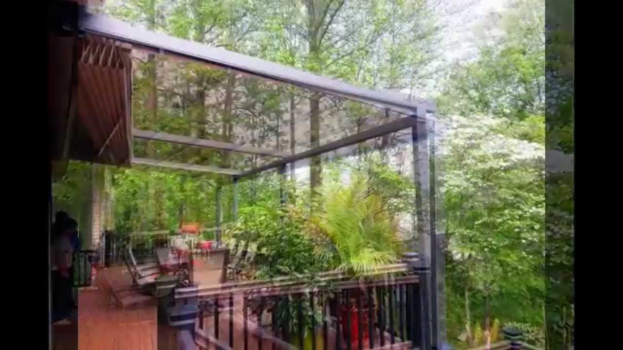 Retractable Awning For Wind Amp Rain Youtube