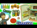 Crazy Small Most Smallest Food Ever - Gummy Pizza, Candy Bars, Fizzy Soda Pop, Wax Drinks