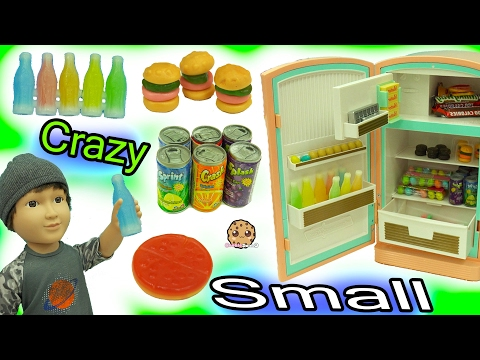 Thumbnail: Crazy Small Most Smallest Food Ever - Gummy Pizza, Candy Bars, Fizzy Soda Pop, Wax Drinks