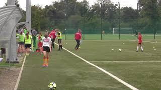 CZ1-Nadia z Kariną w debiucie na Treningu Ślęzy Wrocław  - NIskie Łaki Wrocław