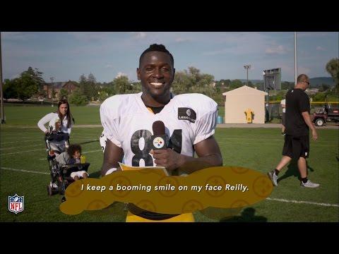 Antonio Brown Pep Talks | Pittsburgh Steelers |  NFL