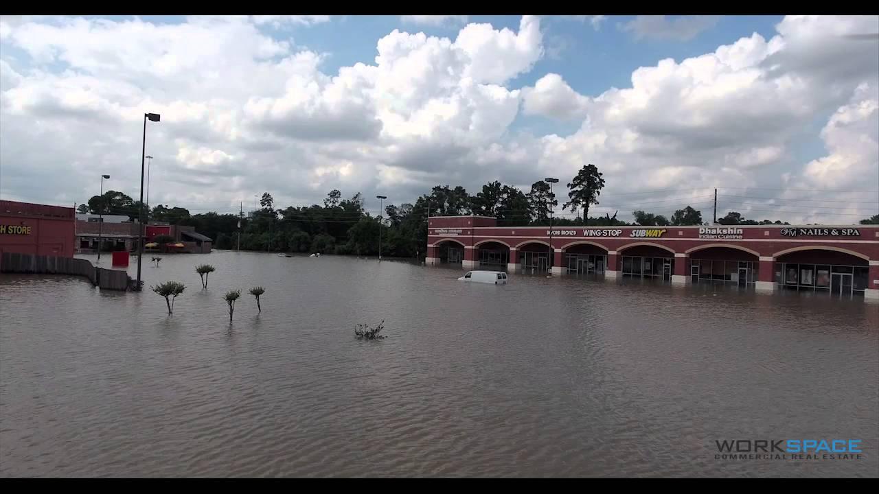 Houston Flooding Kroger at 249 Tomball