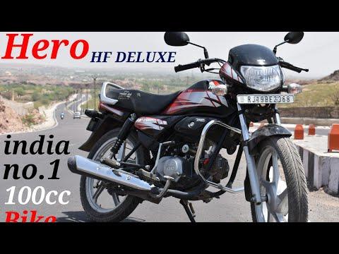 HREO HF DELUXE !! India No.1 100cc bike !!best selling bike!!