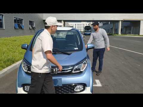 Test drive : China electric and solar cars students visit to factory: Part 3