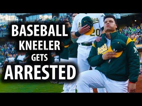 Only MLB Anthem Kneeler, Bruce Maxwell, Gets Arrested