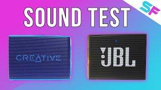 Creative Muvo 2c vs JBL Go - Sound Test