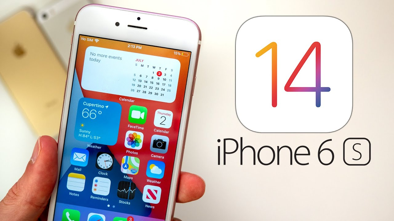 ios 14 on iphone 6s the oldest iphone struggles