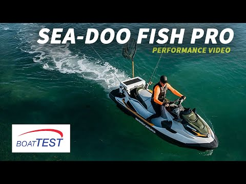 Sea-Doo Fish Pro (2019-) Test Video - By BoatTEST.com