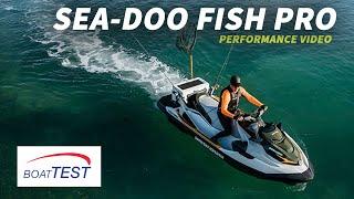 Sea-Doo Fish Pro (2019-) Test Video - By BoatTEST.com