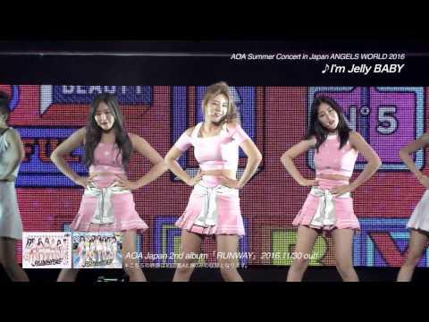 AOA Japan 2nd album『RUNWAY」初回盤A、初回盤B収録~AOA Summer Concert in Japan ANGELS WORLD 2016 – teaser –