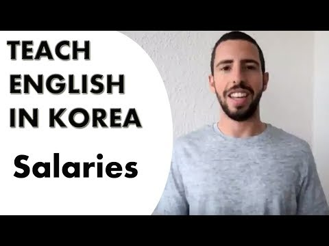 Teaching  English in Korea Salaries | Travel & Teach Recruiting