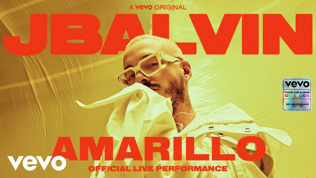 "J Balvin Performs ""Amarillo"" Live!"
