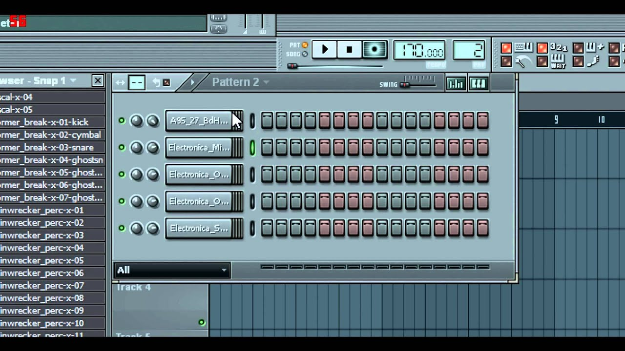 fl studio drum and bass loops