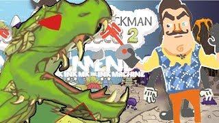 KOMŞU EJDERHAYA TEK ATTI 🐲 | Draw a stickman epic 2