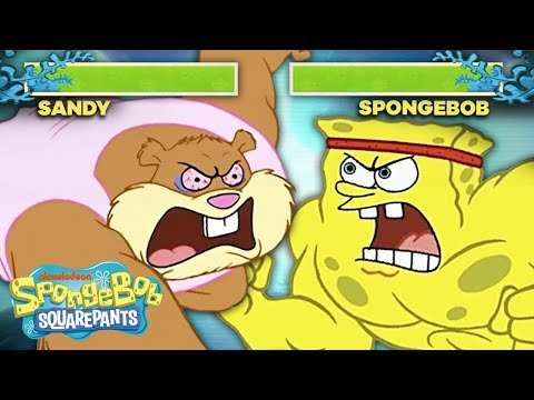 If SpongeBob Was a Fighting Arcade Game 🥊 SpongeBob SquareOff PART 1