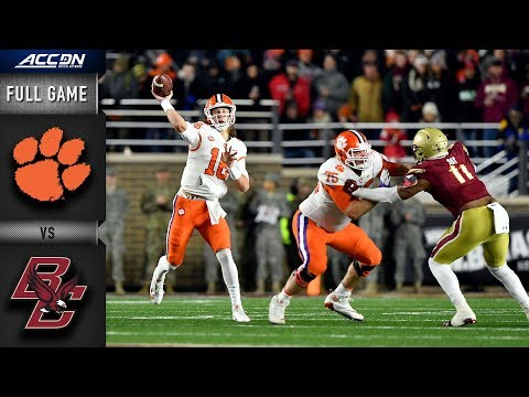 Clemson vs. Boston College Full Game | 2018 ACC Football