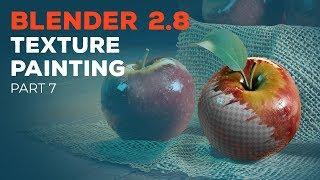 Blender 2.8 Beginner Tutorial - Part 7: Texture Painting