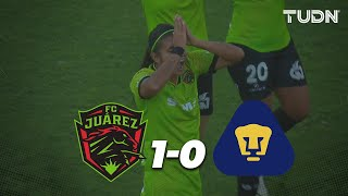 Resumen | Juárez Femenil 1 - 0 Pumas Femenil | Liga MX Femenil - Apertura 2019  - Jornada 11 | TUDN